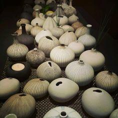 Vaser i organiske former fra Lindform