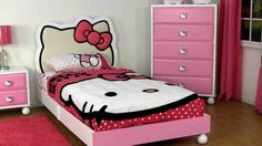 Hello Kitty Bedroom Set Twin
