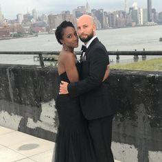 Gorgeous interracial couple in Long Island, New York #love #wmbw #bwwm #swirl #lovingday