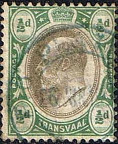 Transvaal 1902 SG 244 King Edward VII Head Fine Used    SG 244 Scott 252 Other African Stamps HERE