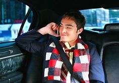 Chuck Bass - The Scarf.