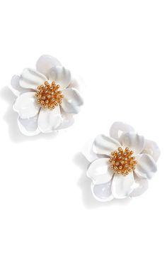 kate spade new york floral mosaic stud earrings  $58.00