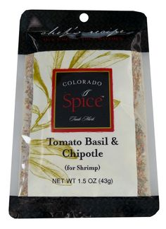 Tomato Basil Chipotle Blend spices up just about any type of steak, seafood or chicken!