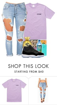 """supreme "" by zaya775 ❤ liked on Polyvore featuring Machine"