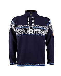 Dale of Norway Men's Holmenkollen Sweater This was the official 2011 Oslo World Cup sweater. The sweater is inspired by old Norwegian design traditions. Argyle Sweater Vest, Sweater Outfits, Sweater Hoodie, Men Sweater, Pullover, Bleu Cobalt, Sweater Shop, Bleu Marine, Winter Looks