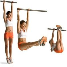 pull up bar abs = new addiction, quick results..