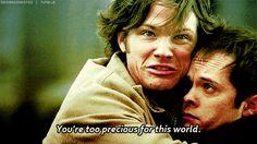 """""""You're too precious for this world"""" #sam #supernatural #funny"""