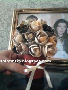 Manualidades rosas con conchas de mar | Solountip.com