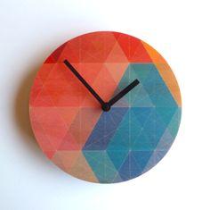 Objetivar Nazca reloj de pared por ObjectifyHomeware en Etsy