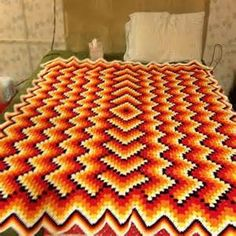 drop in the POND crochet afghan - - Yahoo Image Search Results
