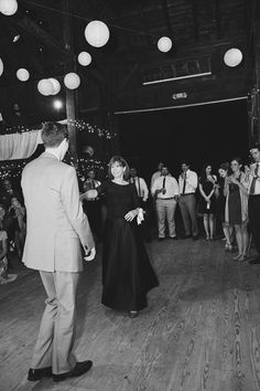 Groom and his mother dancing (photo: Michelle Gardella Photography)
