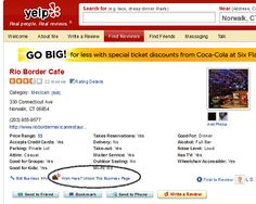7 ways to use #Yelp to Improve your Local #Business.