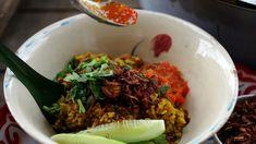 Chicken rice pilaf (kao mok gai)