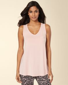 Swing Sleep Tank Boudoir Pink