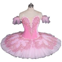 Pink Sugar Plum Fairy Professional Tutu for the Role of the Sugar Plum... (1.120 BRL) ❤ liked on Polyvore featuring ballet, costume, dance, ballerina and ballet costume