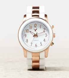 AEO Rose Gold Bracelet Watch | American Eagle Outfitters