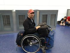Luggage Tips for Wheelchair Travel – Packing to Carrying. >>> See it. Believe it. Do it. Watch thousands of SCI videos at SPINALpedia.com