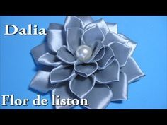 #DIY -# Dalia, flor de liston paso a paso#DIY - # Dalia, flower liston step - YouTube