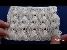 BAHAR DALI Örgü Modeli : Knitting Stitch Patterns Tutorials - Knitting Stitch How to - YouTube