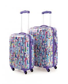 e0e00e01b Jgo de 2 trolleys zapatillas de la firma Lois. Maletas RigidasJuego ...
