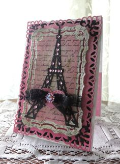 French Frills and  Resplendent Rectangles by Spellbinders