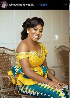 Best African Dresses, African Fashion Skirts, African Wear, Mode Wax, Kente Dress, Kente Styles, Sweet Dreams, Queens, Marriage