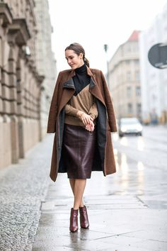 Polished Chic Winter Outfit by Louise Roe streetstyle Berlin 1