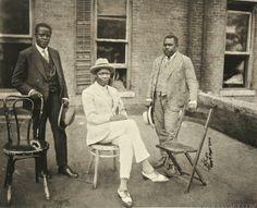Marcus Garvey photographed by James Van Der Zee