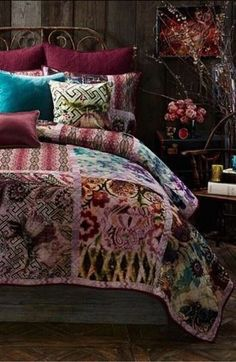 Colors... Where do you even get bed spreads like this?