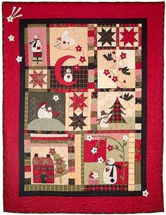 Wish Upon a Winter Star Block of the Month Quilt - Adorable!