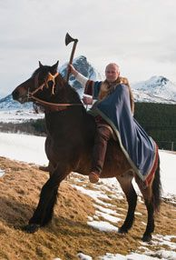 The Vikings were fierce warriors, but also skilled traders, seafarers, navigators, craftsmen and poets - Photo: CH - Visitnorway.com
