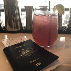 The joys of travel, it's lunchtime somewhere in the world #cosmopolitan #travel #airportlounge #passport #homebound #localrealtors - posted by Ian Van Eijk https://www.instagram.com/ianvaneijk - See more Real Estate photos from Local Realtors at https://LocalRealtors.com