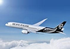 Air New Zealand's new livery revealed. Boeing 787-9 Dreamliner due for delivery 2014