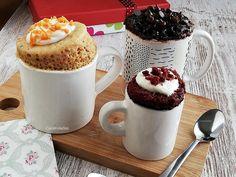 Mug Cake: Tres recetas diferentes para hacer bizcocho en taza | Caceroladas Keto Mug Cake, Fat Foods, Mug Cup, Baby Food Recipes, Muffins, Deserts, Pudding, Cupcakes, Bread