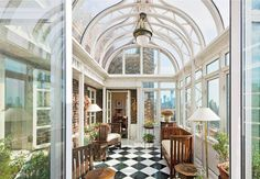 West Village Home Glass Atrium