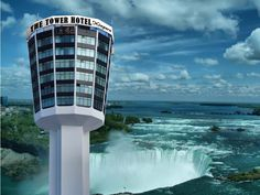 The Tower Hotel So this is the AWESOME hotel Greg is taking me to stay @ for our 1 yr.anniversary on the Canada side of Niagara Falls!