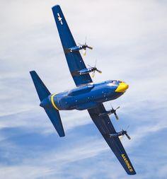 "Lockheed C-130 Hercules (""Fat Albert"") - Blue Angels, United States Navy (USN), United States."