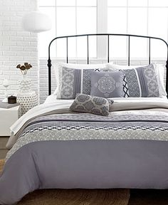 Lily 5 Piece Comforter and Duvet Cover Sets - Apartment Bedding - Bed & Bath - Macy's