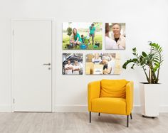 Use photos of employees volunteering for an inspiring addition to your company's #office space!
