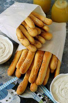 Healthy Salty Snacks, Healthy Crackers, Hungarian Recipes, Italian Recipes, Bread Dough Recipe, World Recipes, Canning Recipes, Creative Food, Finger Foods