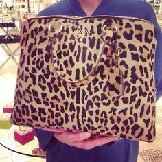 Leopard Prada bag