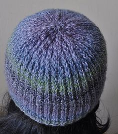 Mendocino Heel Stitch Hat - Crystal Palace Yarns - free hat pattern