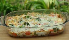 Ezt fald fel!: Rakott brokkoli csirkemellel, sárgarépával