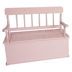 From toys to tiaras from shoes to scarves the Levels of Discovery Simply Classic Pink Finish Bench Seat with Storage is a stylish place to store your princess's favorite things. Crafted from tough materials to withstand wear and tear and finished in a cute pink this bench will take her from toddlerdom to tweenhood.About Levels of DiscoveryAfter spending years as a product developer and president for companies like Enesco