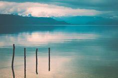 Mirroring lake. Sulawesi Indonesia