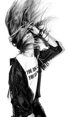 let's rock rockstars black rebel rocknroll cool rockstyle young wild free hair
