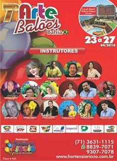 Seminario de arte com balões Bahia