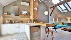 Stará povala, nový byt: Sympatické bývanie prešlo podarenou rekonštrukciou