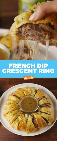 This French Dip Crescent Ring will have all your friends double dipping. Get the recipe from Delish.com.