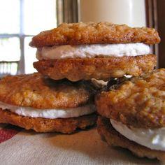 Homemade Oatmeal Cream Pies!